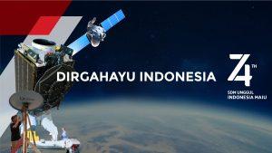 dirgahayu indonesia 74 tahun